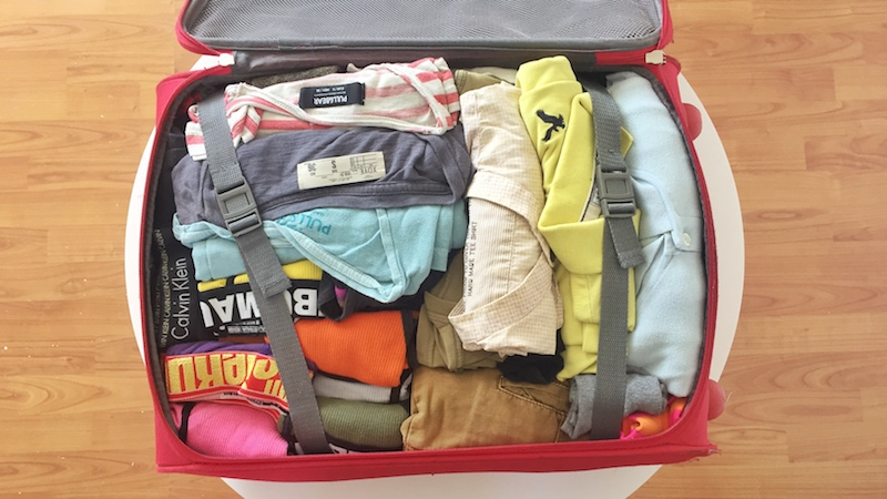 Use a small suitcase
